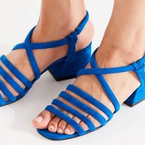 Vagabond Shoemakers Sadie Super Blue Heels 8.5